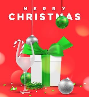 Рождественский праздник иллюстрации фона