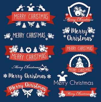 Christmas celebratory banner