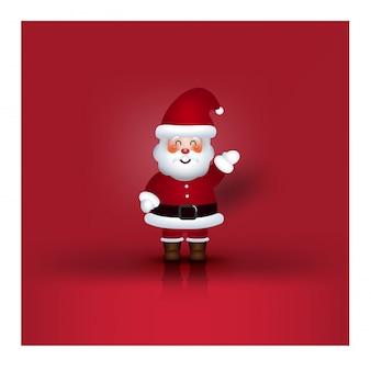 Christmas character cartoon santa claus