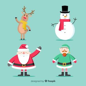 Christmas character collection