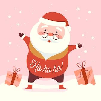 タイポグラフィとクリスマス文字