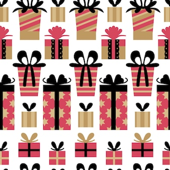 Hygge 원활한 크리스마스 세련 된 패턴 하나