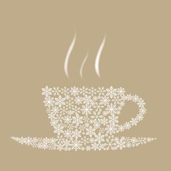 クリスマスコーヒーカップ