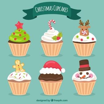 크리스마스 컵 케이크 컬렉션