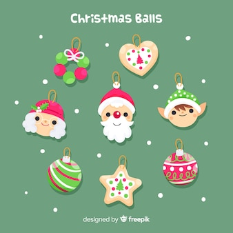 Christmas cute balls pack