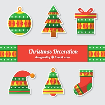 Christmas decoration with original style