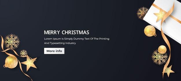 크리스마스 장식 배경 배너 디자인 크리스마스 축제 배너 디자인