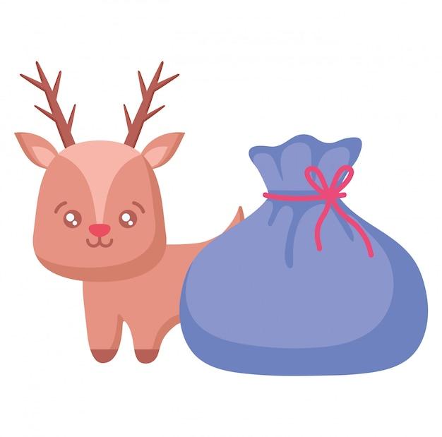 크리스마스 사슴 디자인