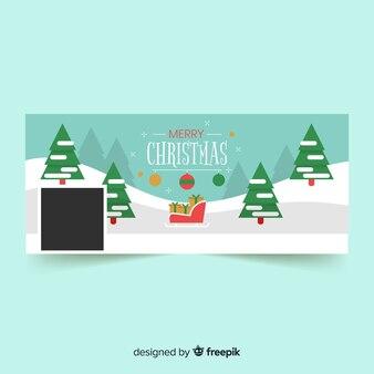 Christmas design facebook cover