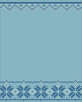 Christmas design knitted background