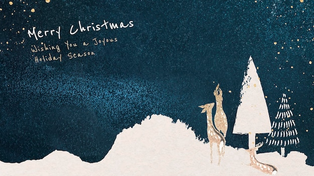 크리스마스 바탕 화면 배경 무늬 템플릿, 편집 가능한 인사말, 축제 디자인 벡터