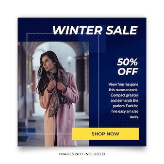 Christmas discount social media post