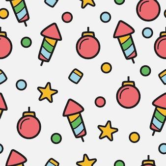 Рождественский рисунок мультфильм шаблон дизайна