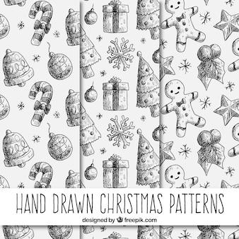 Рождественские шаблоны чертежей