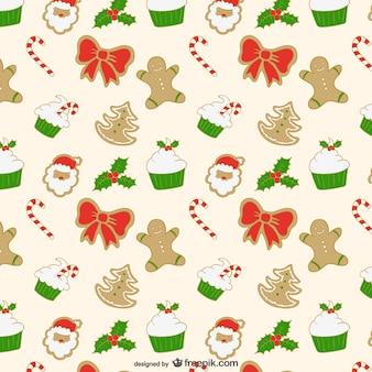 Christmas editable pattern