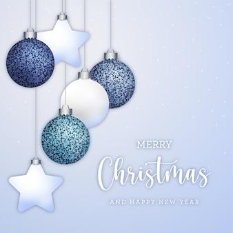 Рождественские элегантные открытки фон