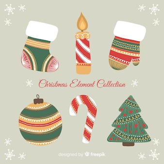 Christmas element collection