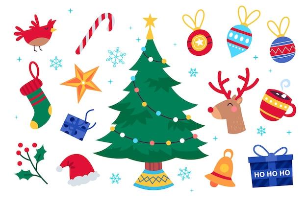 クリスマス要素コレクション