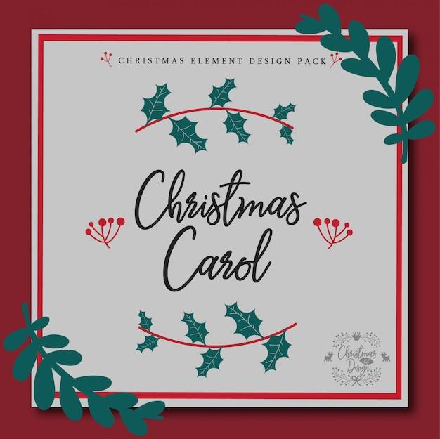 Christmas element design