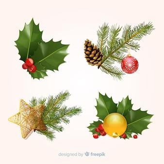 Christmas element set