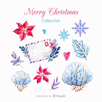 Christmas elements collection