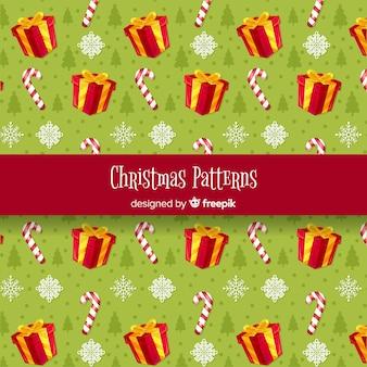 크리스마스 요소 패턴