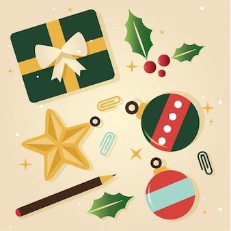 クリスマス要素stikers