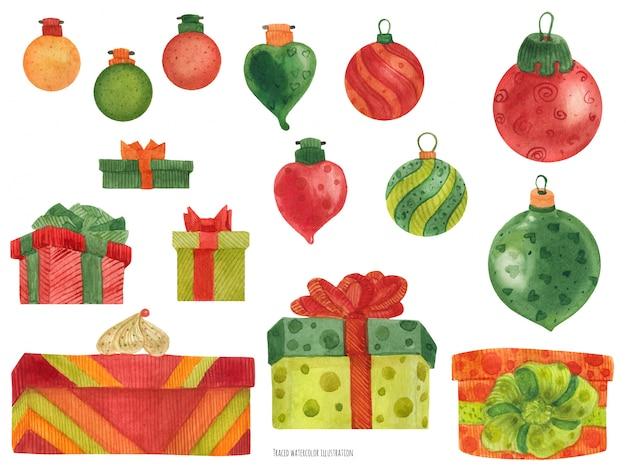 Подарочные коробки и безделушки фабрики рождественских эльфов