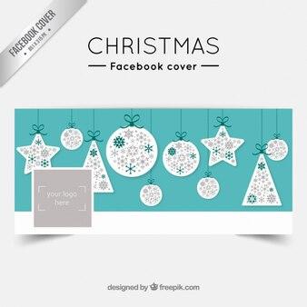 Рождество facebook крышка с блесна