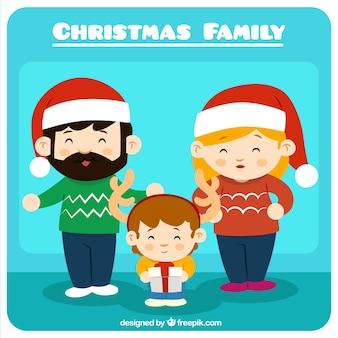 크리스마스 가족