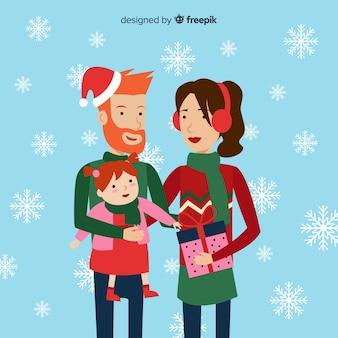 Рождественская семья