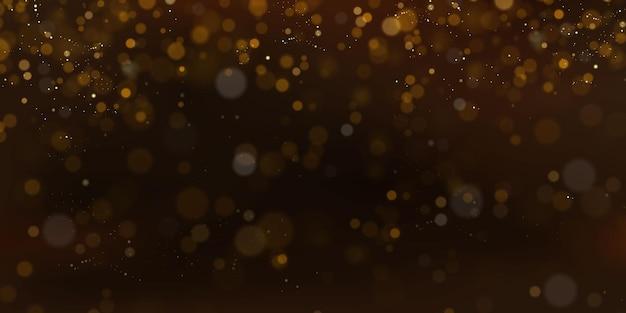 Рождество праздничный фон золотой блики боке размытый боке огни праздничный вектор текстуры карты