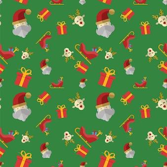 Christmas Flat Design Icon