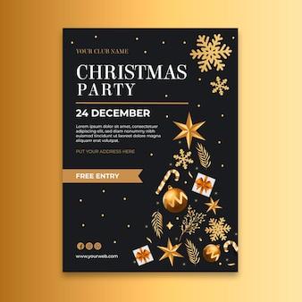 Christmas flyer a5 vertical