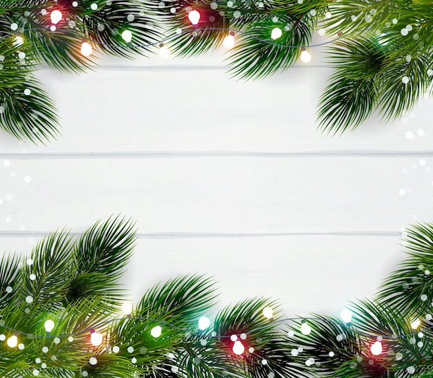 Christmas frame template