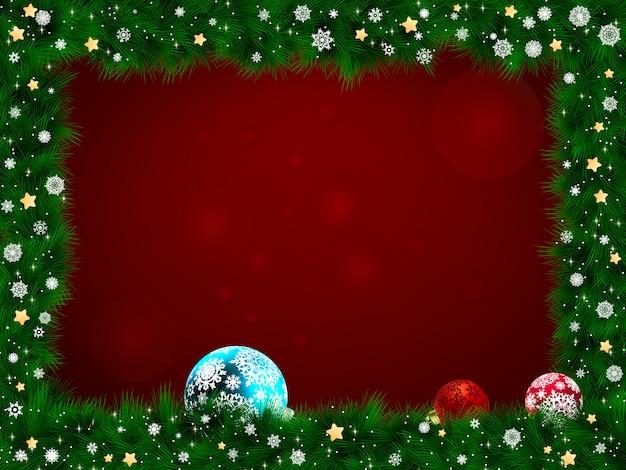 クリスマスフレーム。