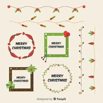 Christmas frames & borders