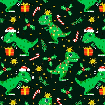 Christmas funny pattern