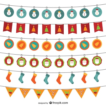 Christmas garlands pack