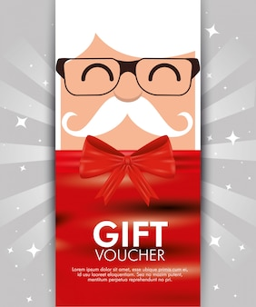 Christmas gift voucher with discount