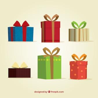 Christmas giftboxes collection