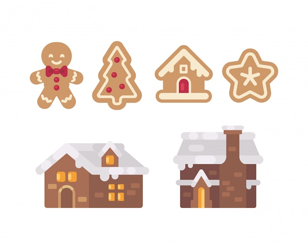 Christmas gingerbread collection.