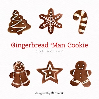 Christmas gingerbread cookies pack