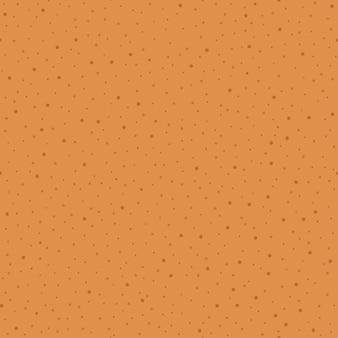 クリスマスジンジャーブレッドテクスチャ休日甘いクッキー生地シームレスなベクトルパターン