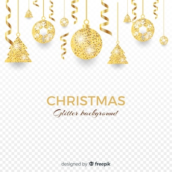 Christmas glitter background