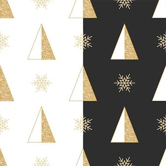 크리스마스 반짝이 패턴