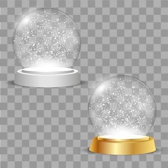 Christmas globes.