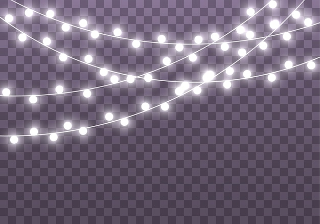 Новогодняя светящаяся гирлянда led neon lamp
