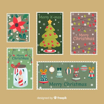 Christmas greeting card collection