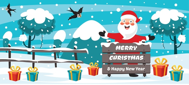Рождественские открытки дизайн с героями мультфильмов